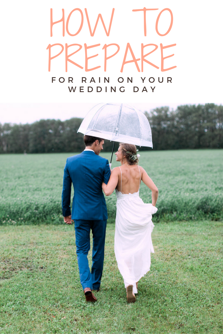 How to prepare for rain on your wedding day calgary wedding how to prepare for rain on your wedding day junglespirit Image collections