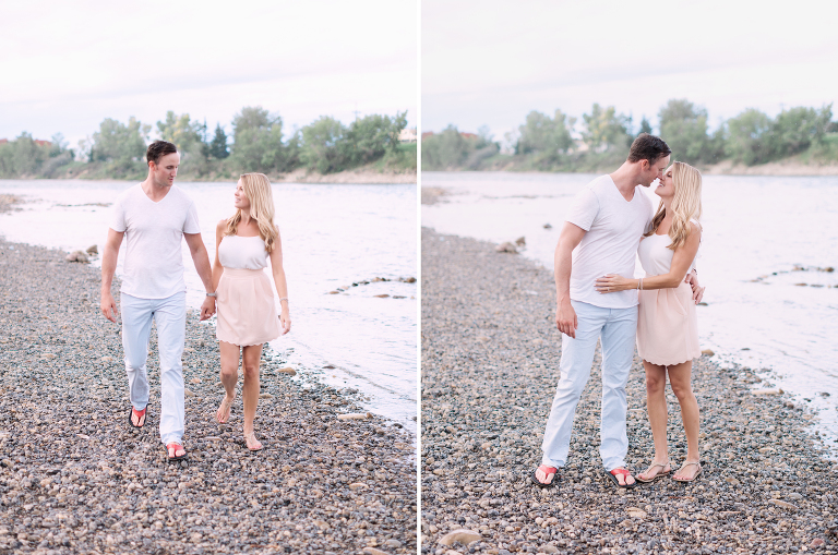 Sunset Engagement in Calgary, calgary wedding photographers, calgary wedding photographer, edmonton wedding photographer, edmonton wedding photographers, banff wedding photographers, canmore, film engagement, film photography,