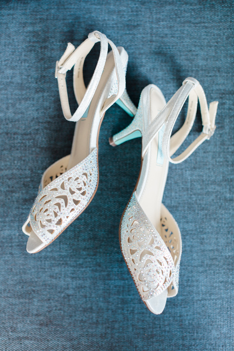 bridal shoes, film wedding photography, getting ready wedding, bridal shoes, betsy johnson, calgary wedding photographers