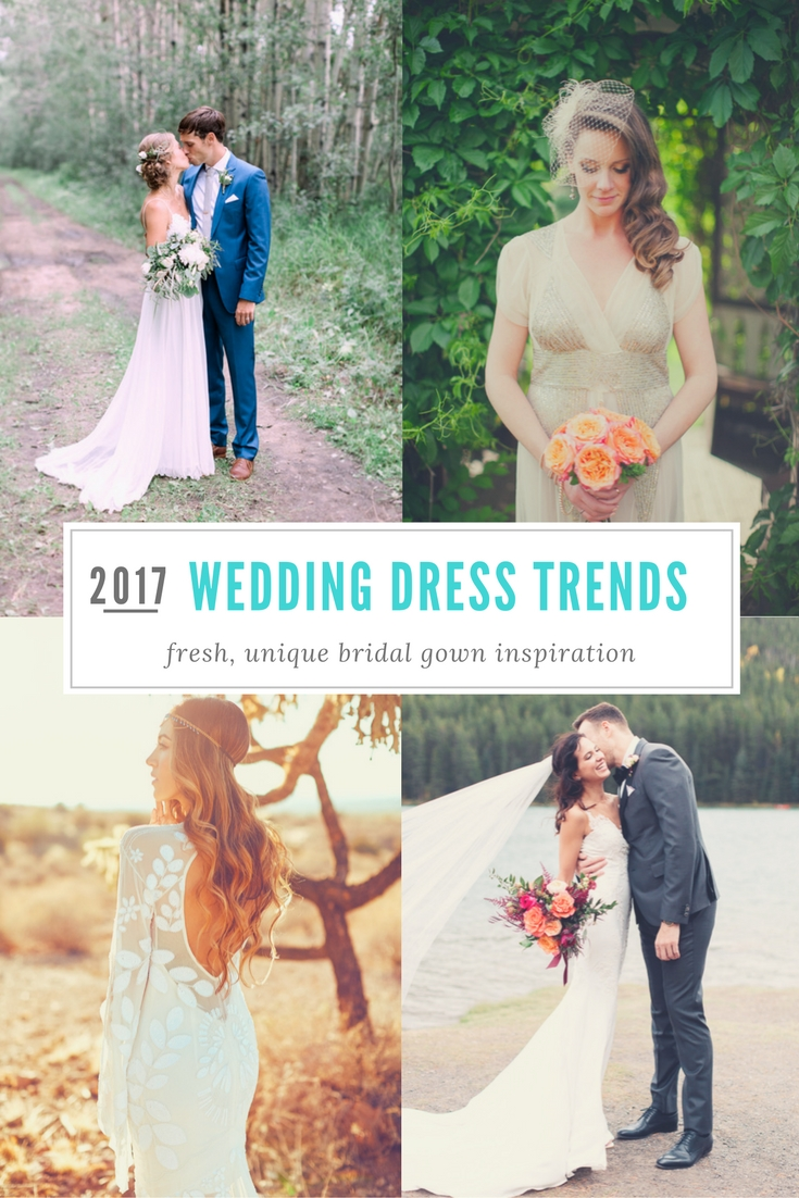 2017 Wedding Dress Trends | Calgary Wedding Photographers | Nicole ...