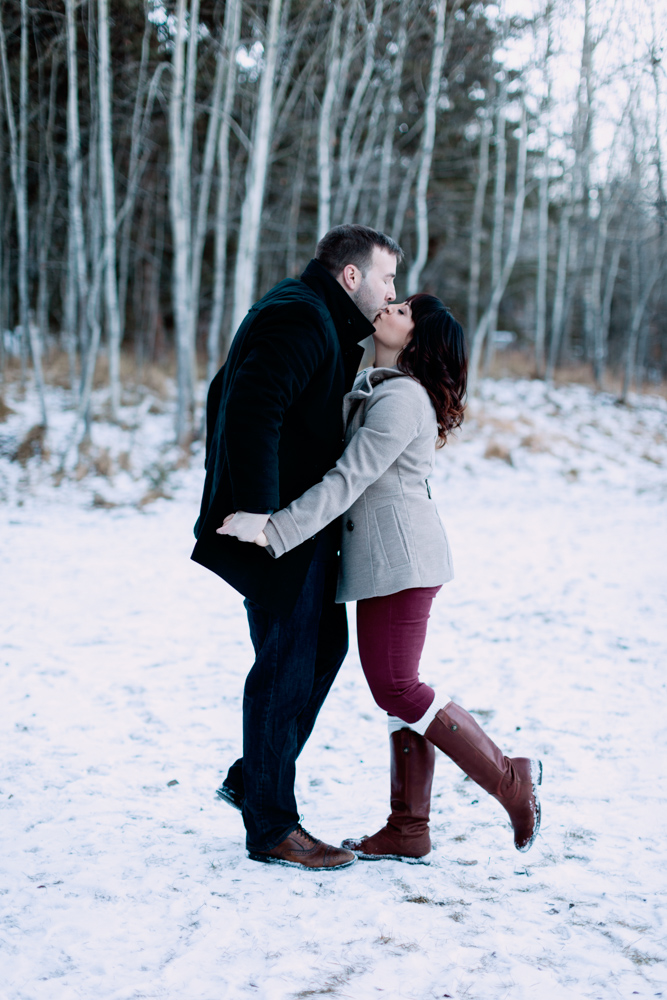 Dreamy Winter Engagement Session in Calgary, winter, photography, wedding photographers calgary nicole sarah, christmas, winter photos, engagement poses